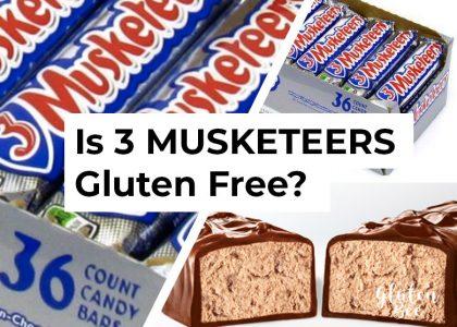 Is 3 MUSKETEERS Gluten Free?