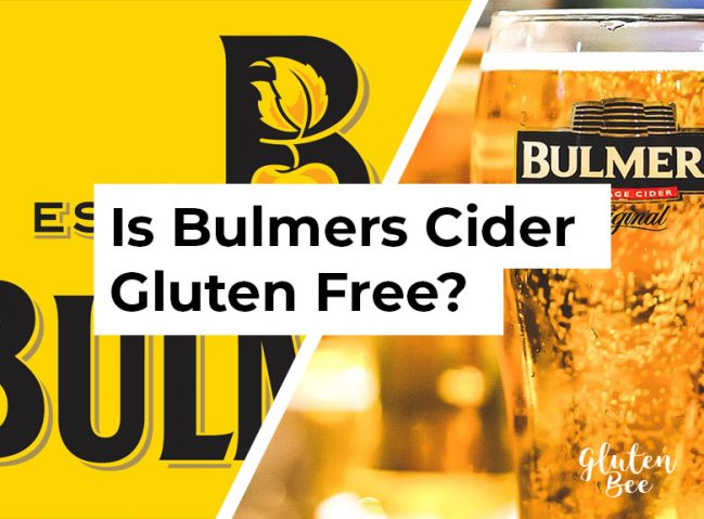 Is Bulmers Cider Gluten Free?