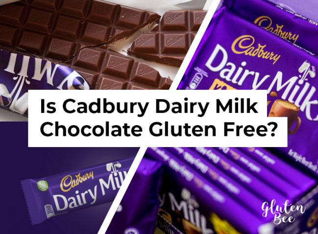 Is Cadbury Dairy Milk Gluten Free?