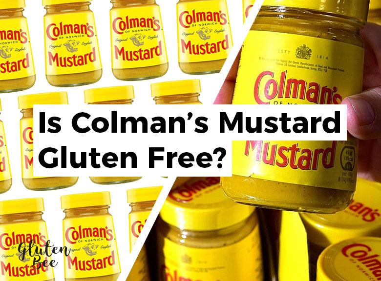 Is Colman's Mustard Gluten Free?