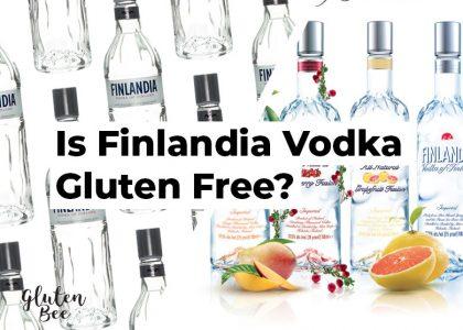Is Finlandia Vodka Gluten Free?