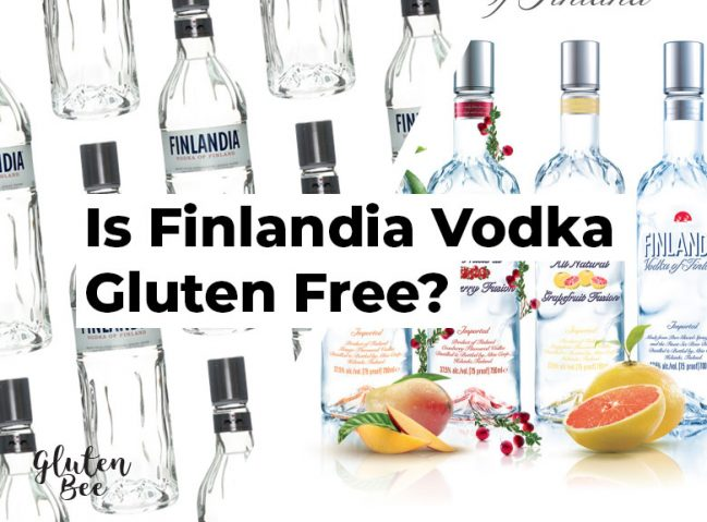 Is Finlandia Vodka Gluten Free?