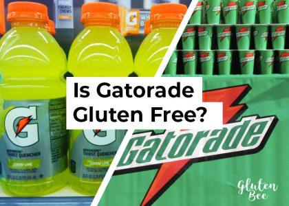 is gatorade gluten free?