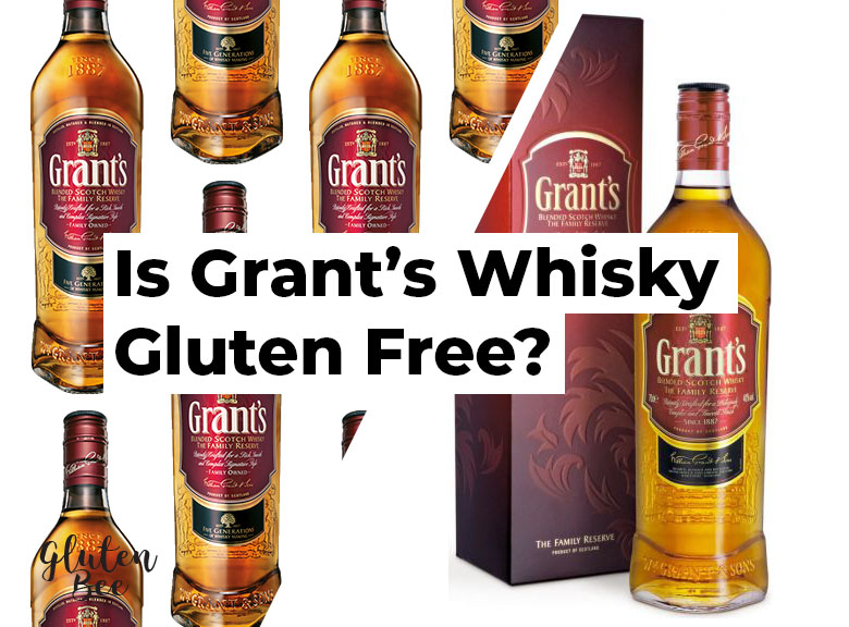 Is Grant's Whiskey Gluten Free?