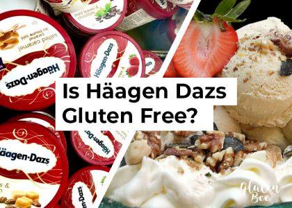 Is Häagen-Dazs Ice Cream Gluten Free?