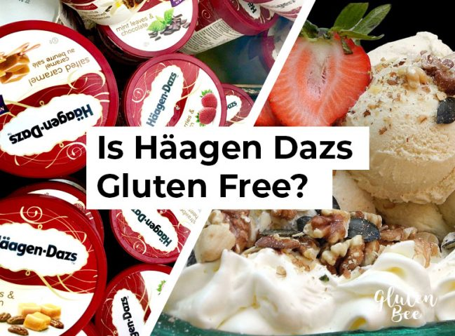Is Häagen-Dazs Ice Cream Gluten Free?