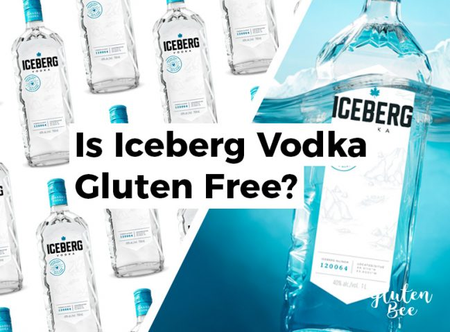 Is Iceberg Vodka Gluten Free?