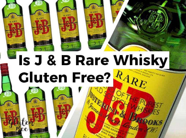Is J&B Rare Scotch Whisky Gluten Free?