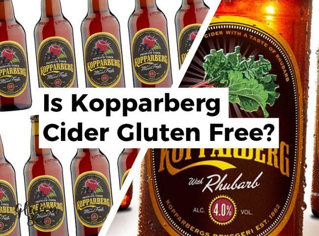 Is Kopparberg Cider Gluten Free?