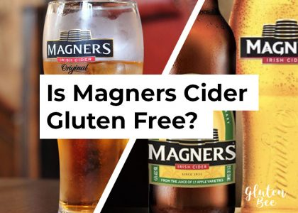 Is magners cider gluten free?