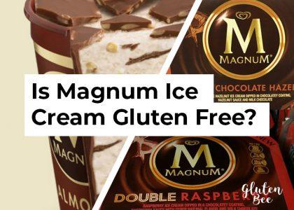 Is Magnum Ice Cream Gluten Free?