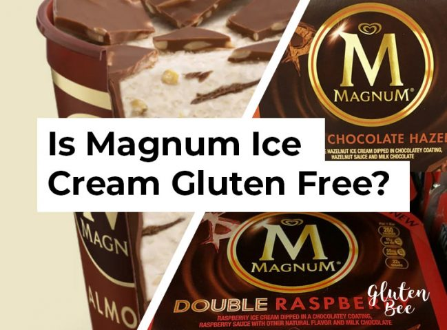 Is Magnum Ice Cream Gluten Free?