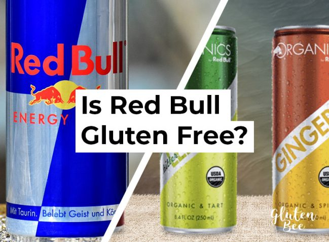 Is Red Bull Gluten Free?