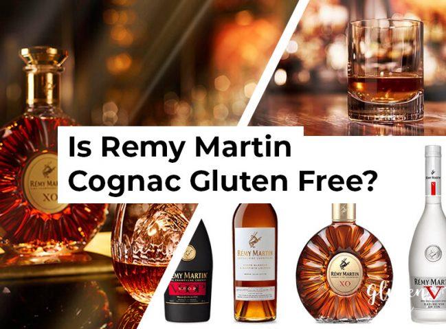 Is Remy Martin Cognac Gluten Free?