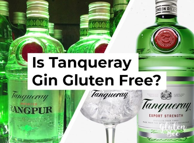 Is Tanqueray Gin Gluten Free?