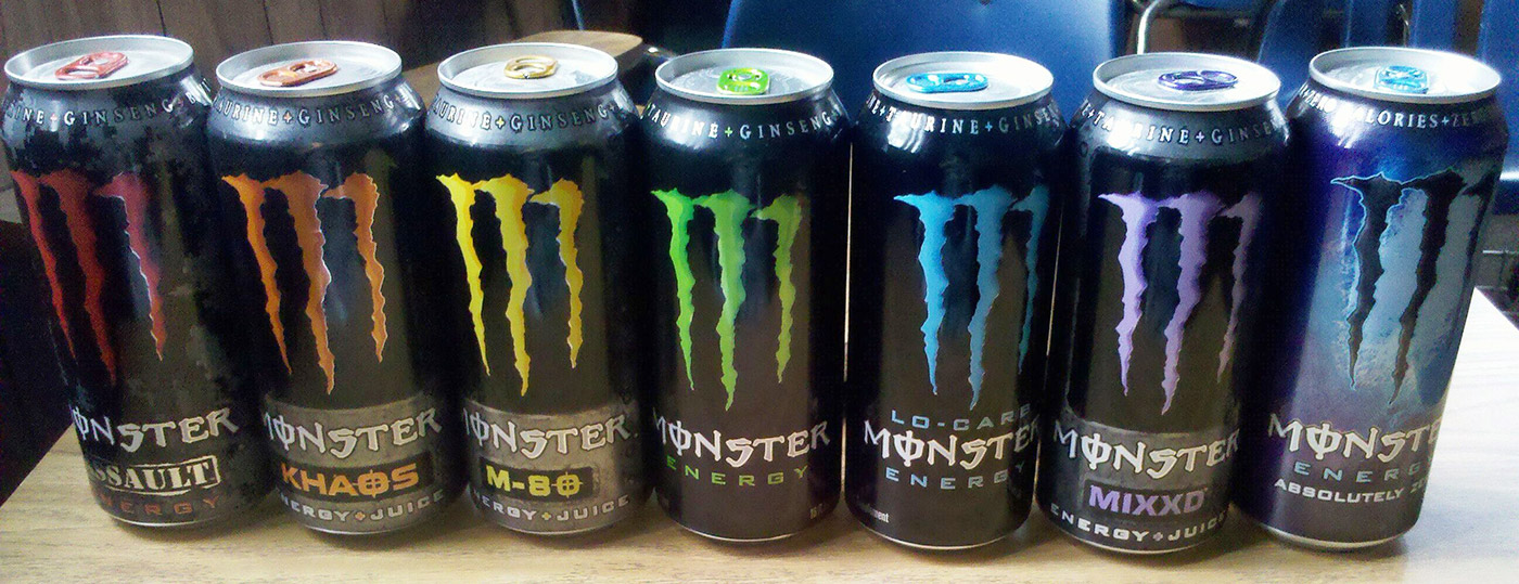 monster energy flavors