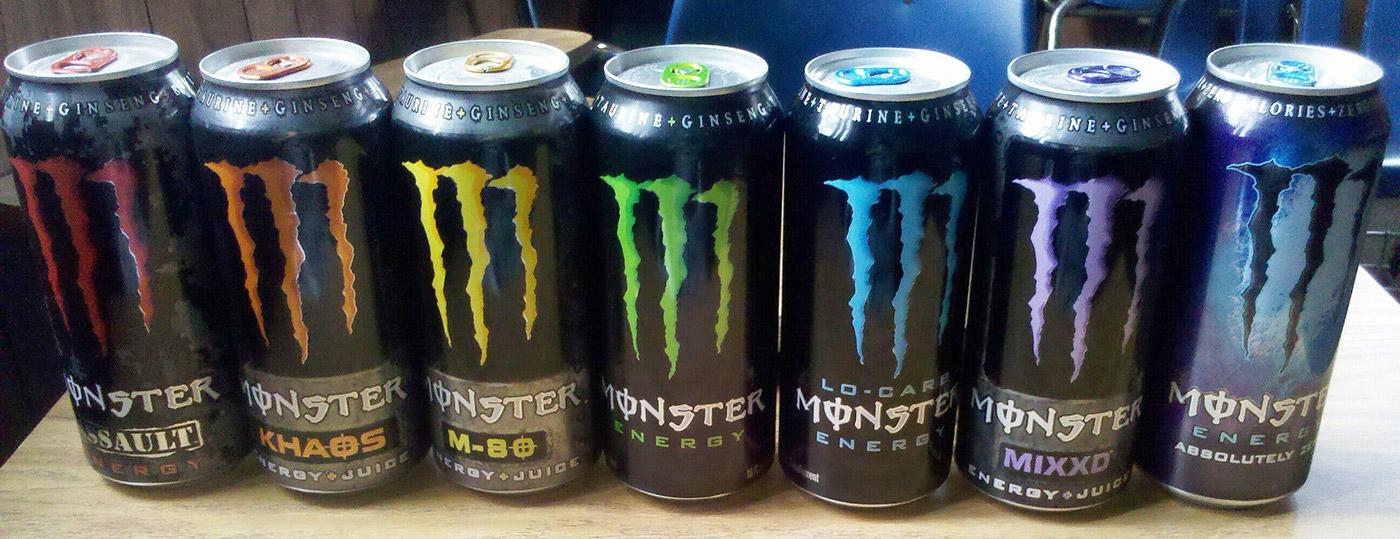monster energy flavors