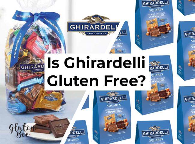 Is Ghirardelli Chocolate Gluten Free?