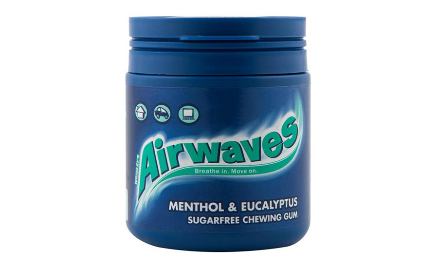 Airwaves Gum Bottle