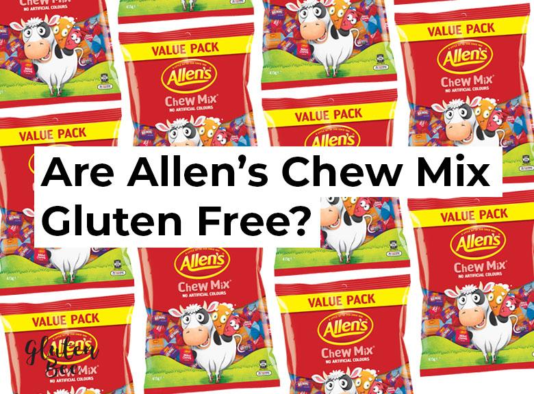 Are Allen's Chew Mix Gluten Free?