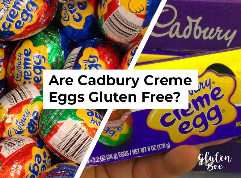 are cadbury creme eggs gluten free