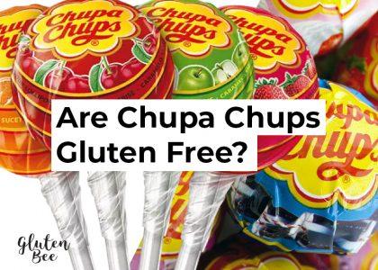Are Chupa Chups Gluten Free?