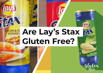 Are Lay's Stax Gluten Free?