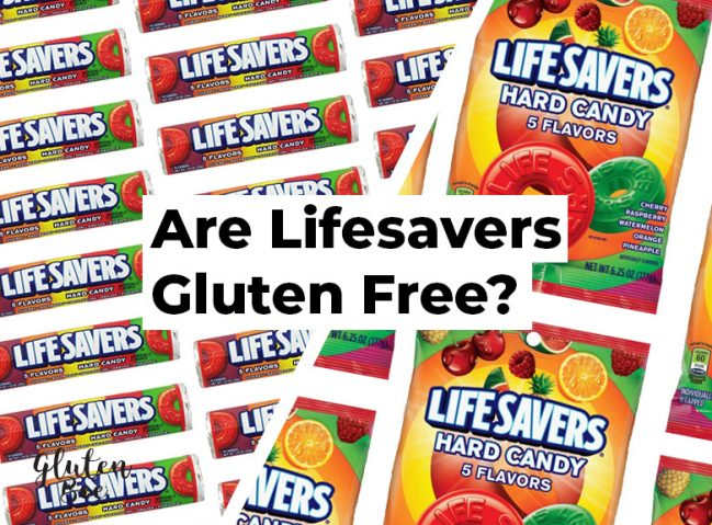 Are Lifesavers Gluten Free?