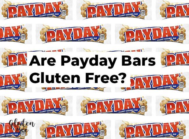 Is Payday Gluten Free?
