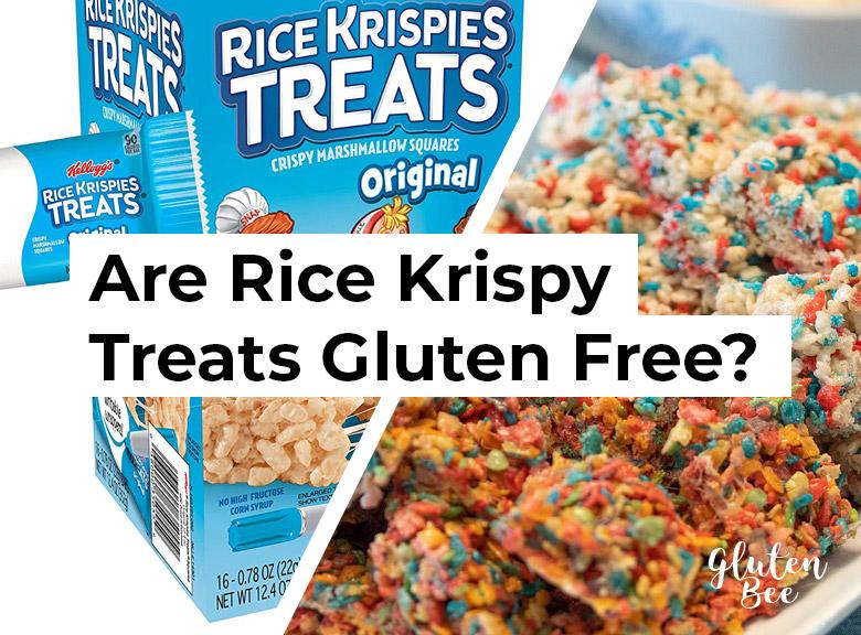 Are Rice Krispy Treats Gluten Free?