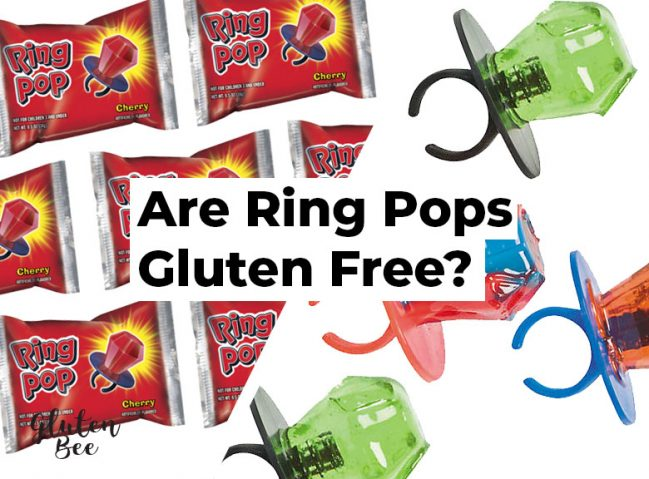 Are Ring Pops Gluten Free?