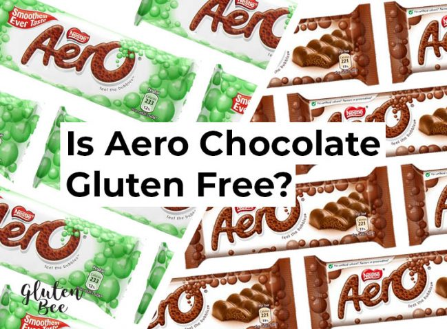 Is Aero Gluten Free?