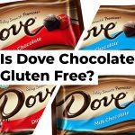 Is Dove Chocolate Gluten Free?