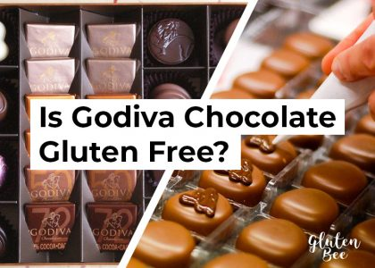 Is Godiva Chocolate Gluten Free?