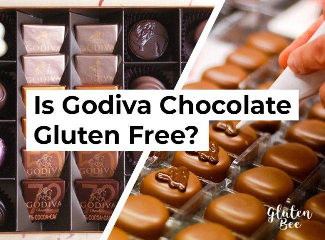 Is Godiva Chocolate Gluten Free?