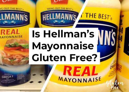 Is Hellman's Mayonnaise Gluten Free?