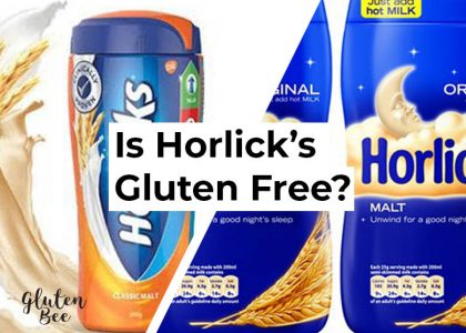Is Horlicks Gluten Free?