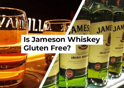 Is James Irish Whiskey Gluten Free?
