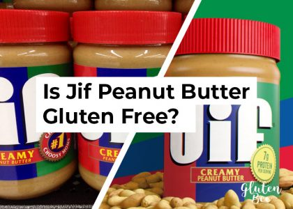 Is Jif Peanut Butter Gluten Free?