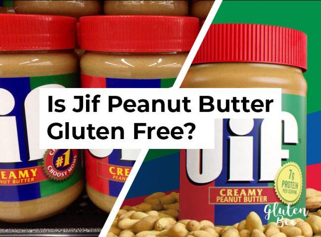 Is Jif Peanut Butter Gluten Free?