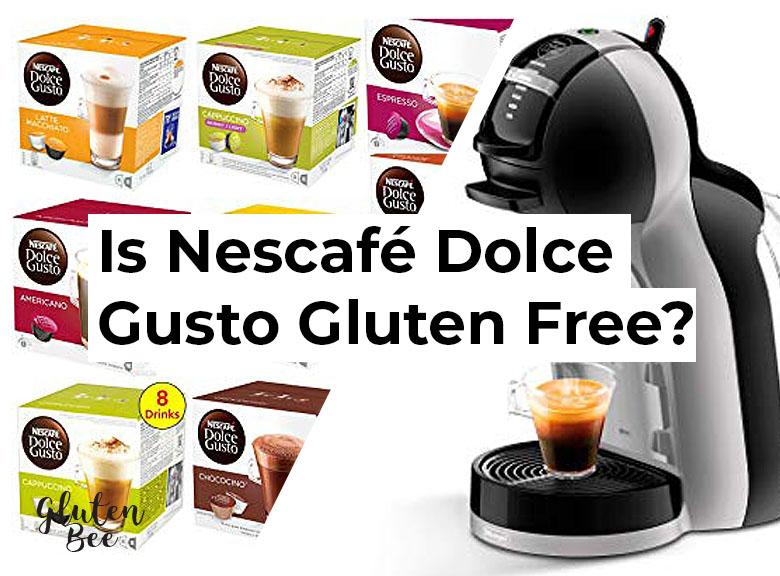 Is Nescafé Dolce Gusto Gluten Free?