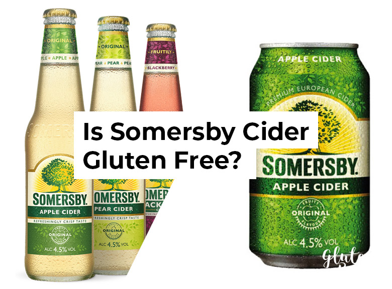 Is Somersby Cider Gluten Free?
