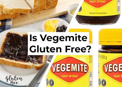 Is Vegemite Gluten Free?