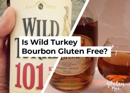 Is Wild Turkey Bourbon Gluten Free?