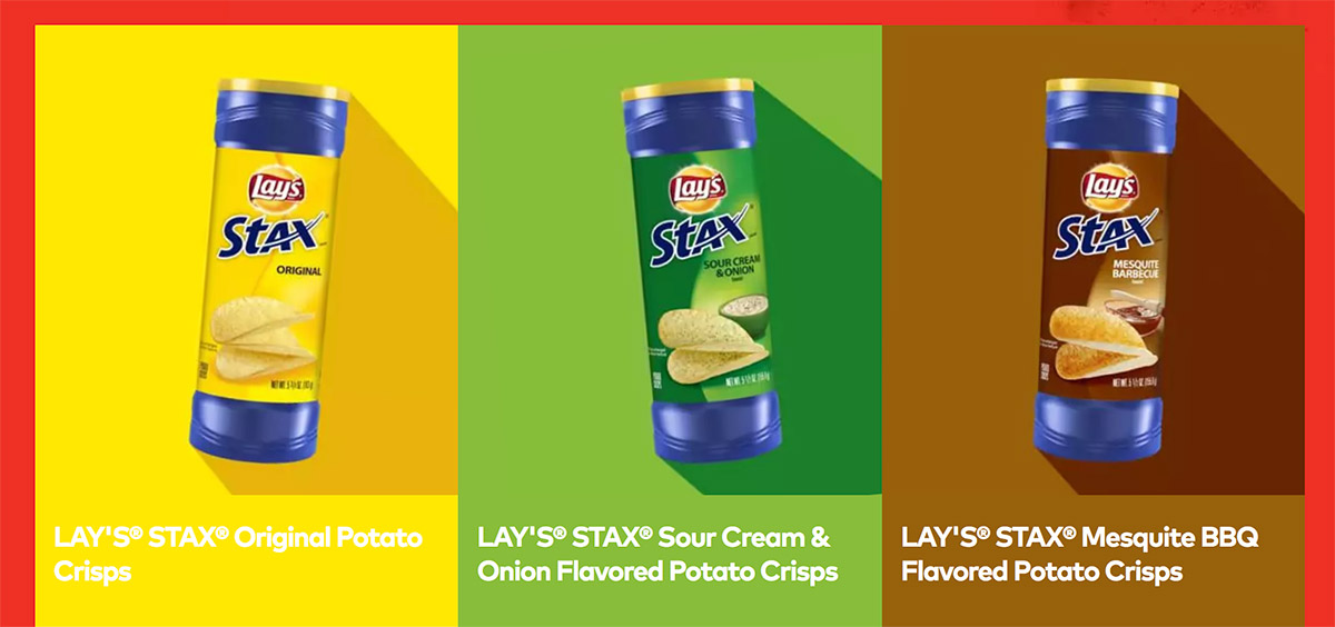 Lay's Stax flavors