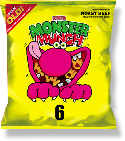 monster munch roast beef
