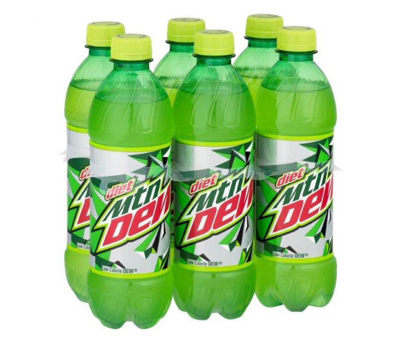 Mountain Dew Bottles