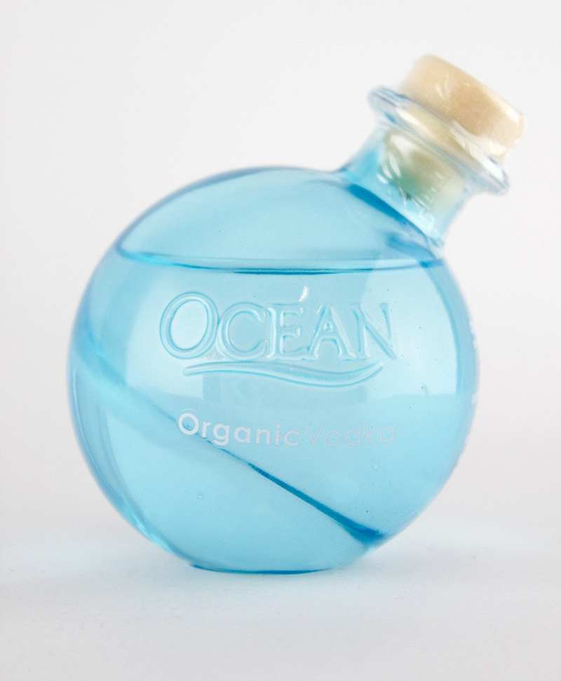 Ocean Vodka Bottle