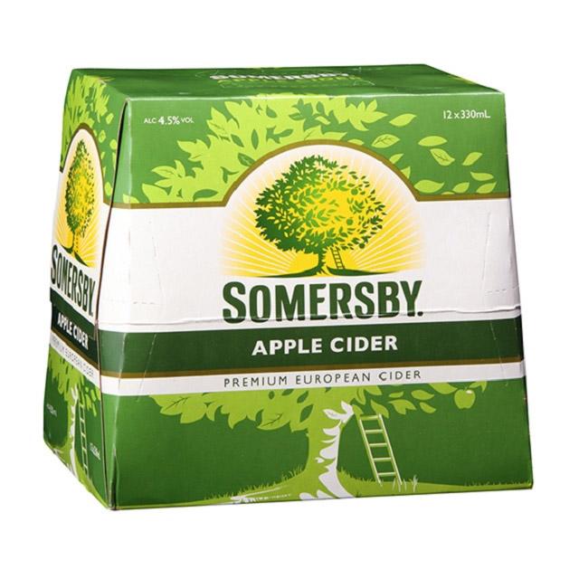 somersby cider case