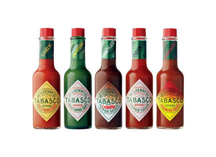 Tobasco Sauce Flavors